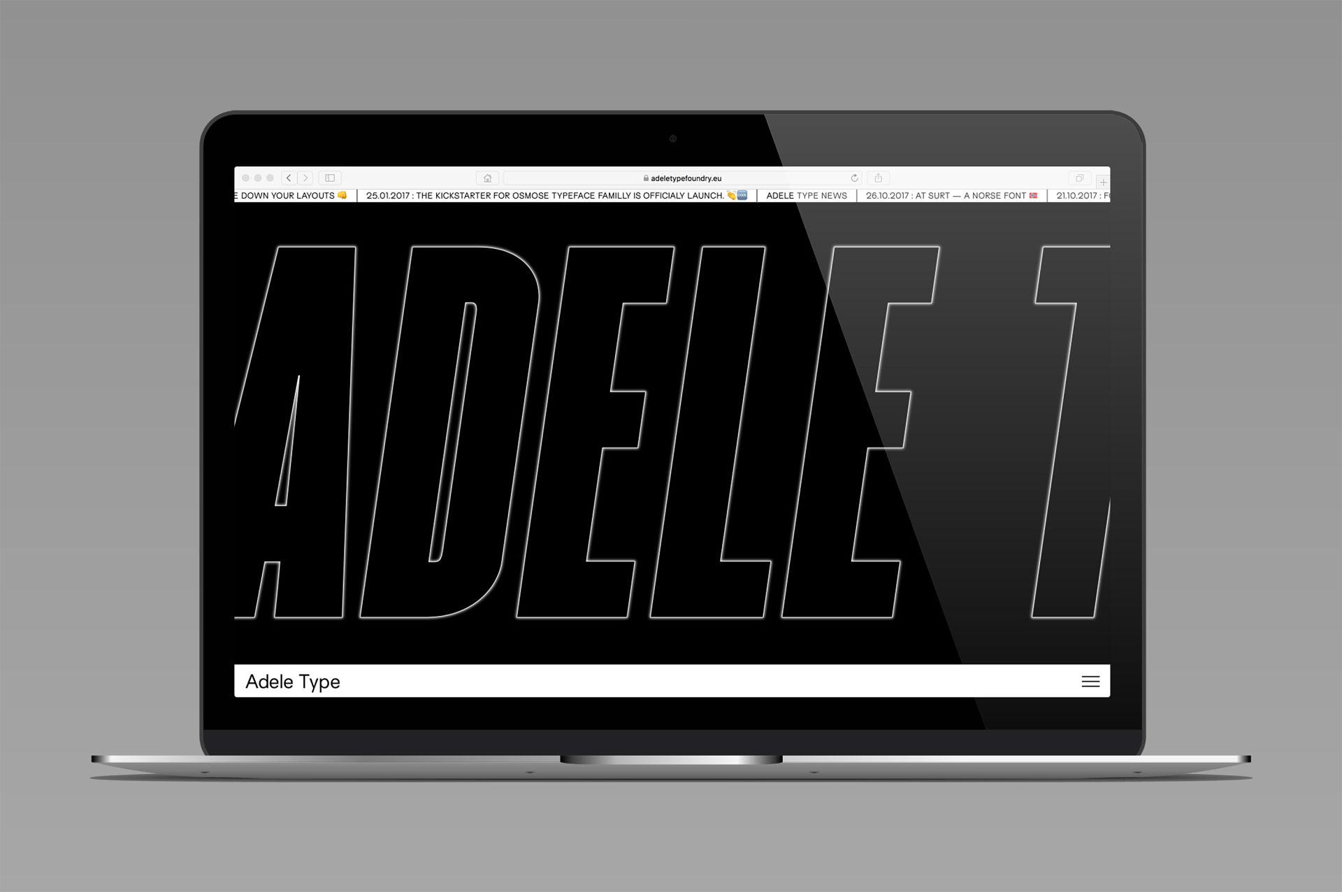 Studio Samuel Gadea Blaze Type Copy